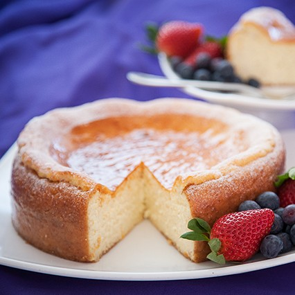 Italian Ricotta Cheesecake (Serves 12)